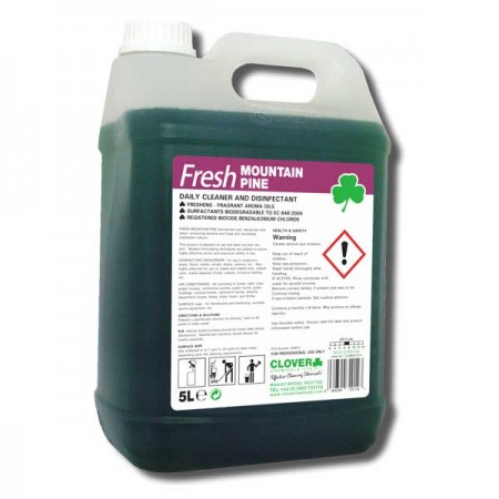 Clover Fresh Mountain Pine Antibacterial Disinfectant Floor & Surface Cleaner