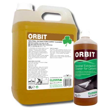 Clover Orbit Neutral Liquid Carpet Cleaner