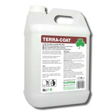 Clover Terra-Coat Low Gloss Floor Polish