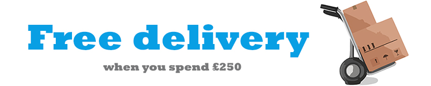 Free delivery advert banner