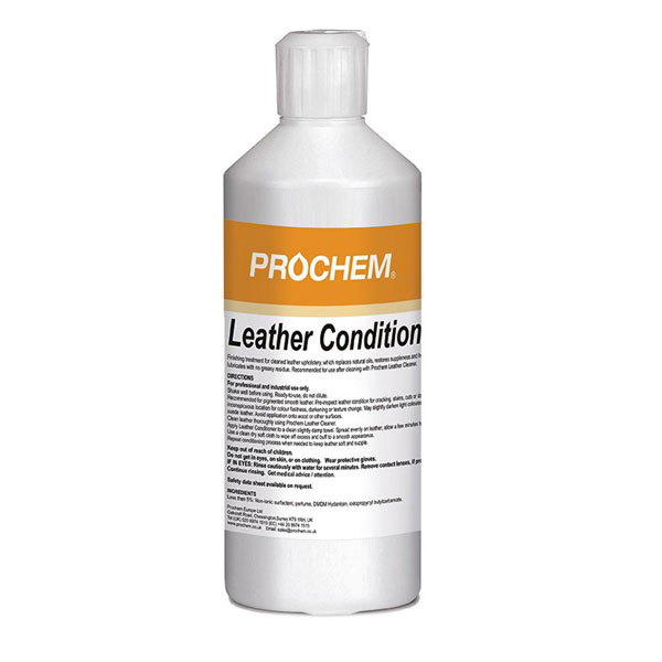 Prochem Leather Conditioner 500ml E675 01 Top Cleaning