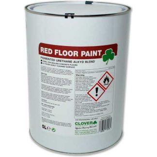 Clover Red Floor Paint