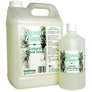 Clover Savon Blanc Hand Soap