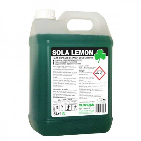 Clover Sola Lemon Surface Cleaner