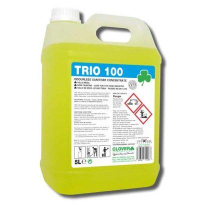 Clover Trio 100 Antibacterial Floor & Surface Cleaner