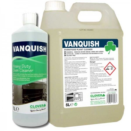 Clover Vanquish Oven & Surface Cleaner