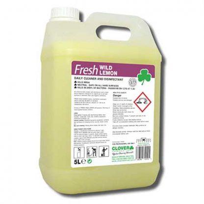Clover Fresh Wild Lemon Floor & Surface Disinfectant