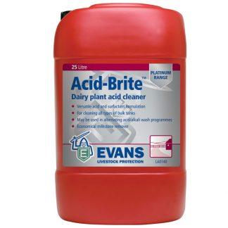 Evans Acid Brite Dairy Plant Cleaner
