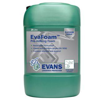 Evans Evafoam Pre Milking Teat Cleanser