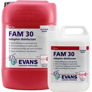 Evans Fam 30 Disinfectant