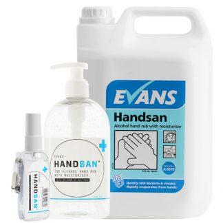Evans Handsan Antibacterial Alcohol Hand Gel