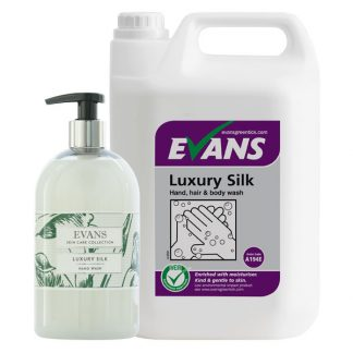 Evans Luxury Silk Hand, Hair & Body Wash