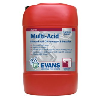 Evans Multi Acid Detergent & Descaler