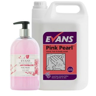 Evans Pink Pearl Hand, Hair & Body Wash