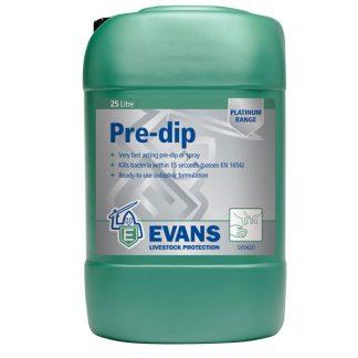 Evans Pre-Dip Teat Dip & Teat Spray