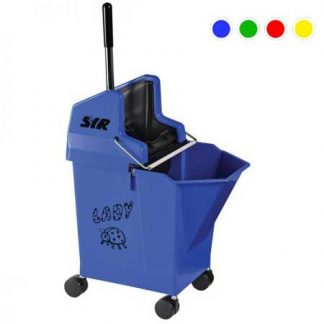 SYR Lady Mopping Combo 15 Litre Wringer Bucket