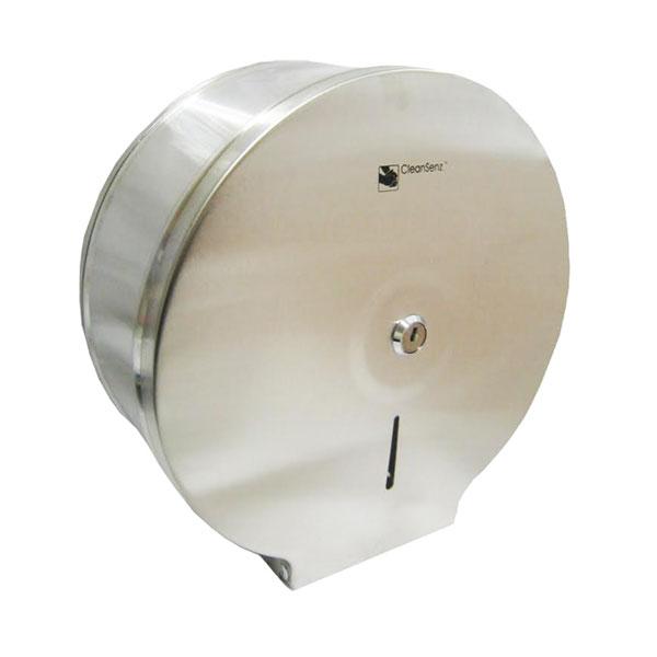 Stainless Steel Mini Jumbo Toilet Roll Dispenser Top