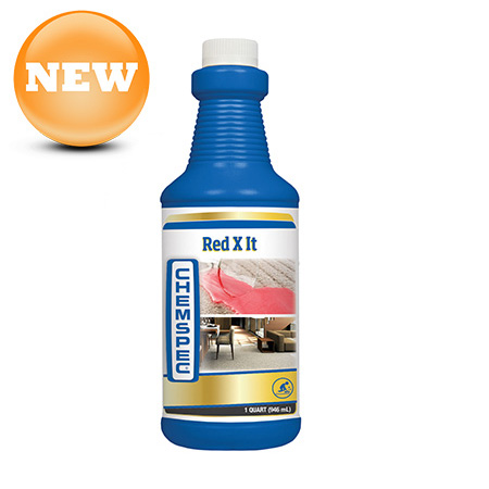 Chemspec Red X It Carpet Stain Remover Liquid