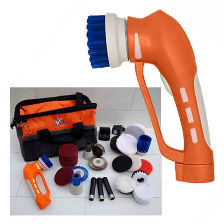 iVo Power Brush Handheld Cleaning Tool