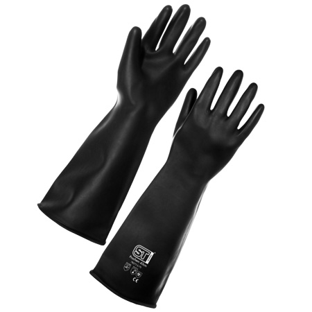 Supertouch Prochem Heavy Duty Rubber Gloves