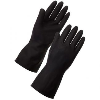 Supertouch Heavyweight Latex Rubber Gloves