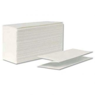 White Z Fold Hand Towels