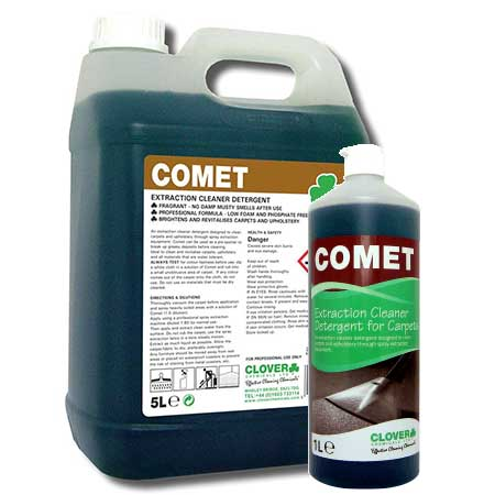 Clover Comet Carpet Cleaner Top Cleaning Supplies