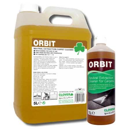 Clover Orbit Neutral Liquid Carpet Cleaner