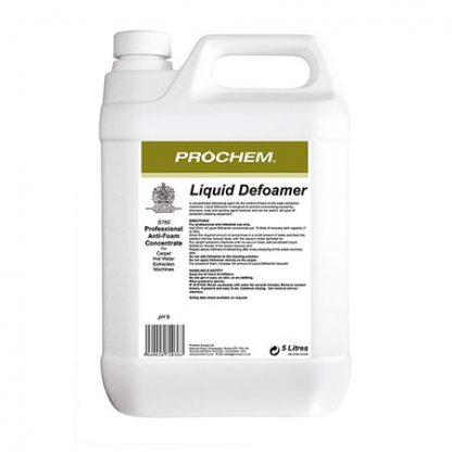 Prochem Liquid Defoamer for carpet cleaning