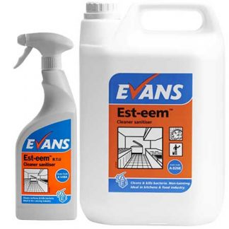 Evans Est-eem Unperfumed Surface Disinfectant Cleaner