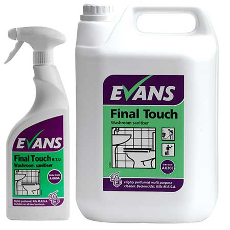 Evans Final Touch Antibacterial Washroom Cleaner