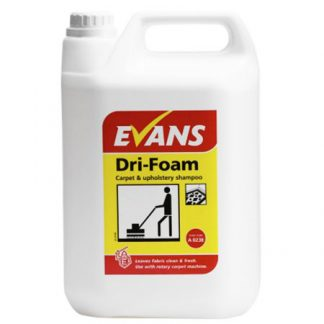 Evans Dri-Foam Carpet & Upholstery Shampoo