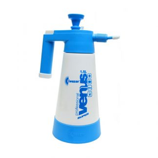 Blue and White Venus Pro 1.5 Litre Pressure Sprayer