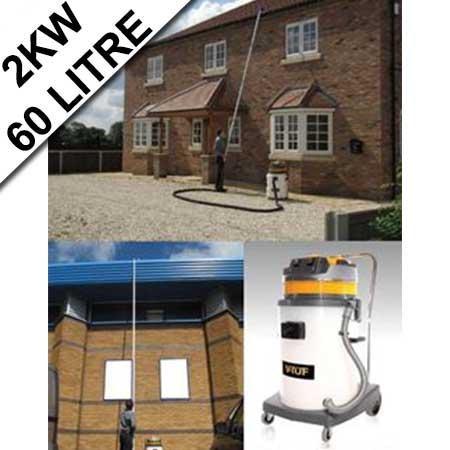 V-Tuf Industrial Gutter Cleaning Kit 2KW