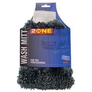 2 in 1 Chenille Car Wash Mitt & Bug Shifter