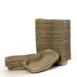 Paper Pulp Kidney Bowls