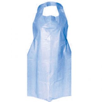 Apron - Blue Polythene