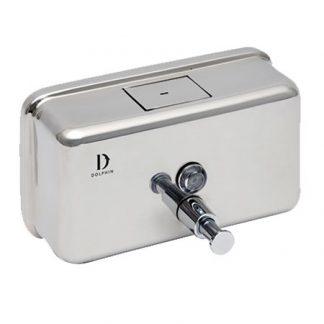 Dolphin Horizontal Stainless Steel Soap Dispenser 1200ml