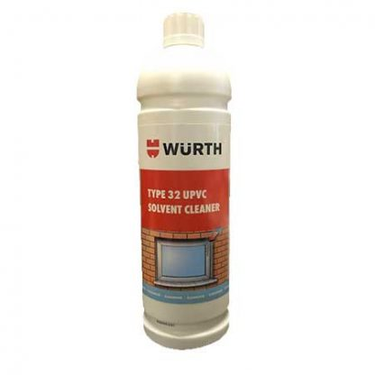 Wurth Type 32 UPVC Solvent Cleaner 1 Litre