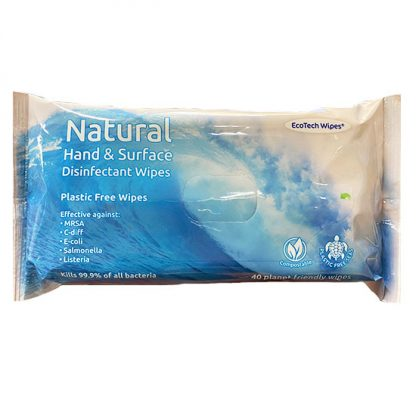 EcoTech Natural Disinfectant Hand and Surface Wipes