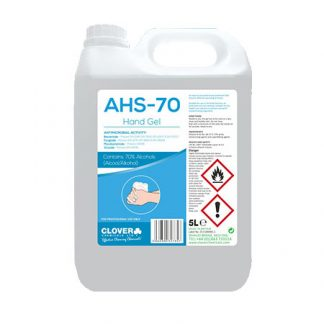 Clover AHS-70 Alcohol Hand Sanitiser Gel