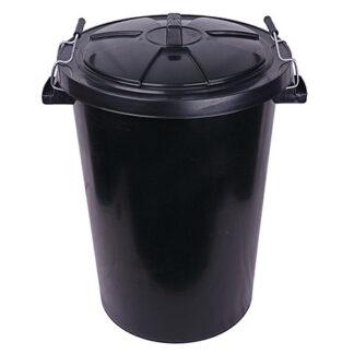 90 Litre Plastic Rubbish Bin